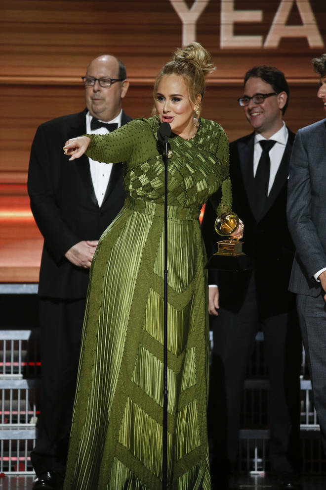 Adele won an armful of awards at the Grammys in 2017