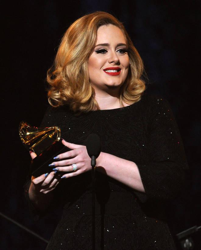 Adele has three studio albums