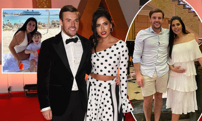 Cara De La Hoyde and Nathan Massey are expecting their second baby