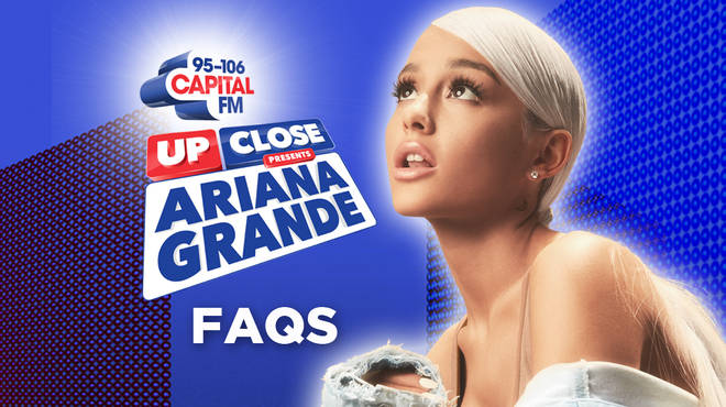 Capital Up Close Presents Ariana Grande