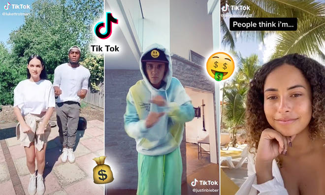 Love Islanders and pop stars are amongst TikTok's highest-earning users