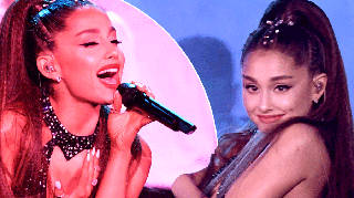 Ariana Grande gets ready to announce Sweetener Tour