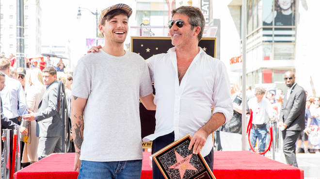 Louis Tomlinson leant on Simon Cowell after his mum's death.