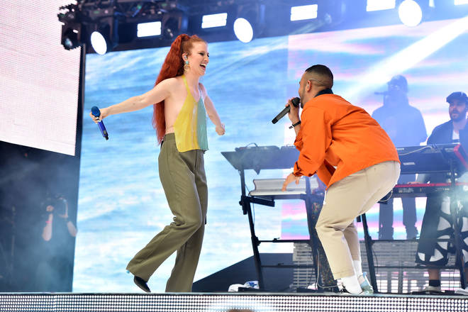 Jess Glynne performed with Rudimental at Capital's Summertime Ball