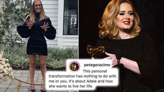 Adele's transformation pictures have circulated the internet