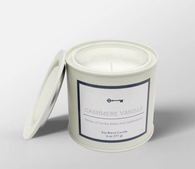 The Harry Styles-smelling cashmere vanilla candle was for sale in Target