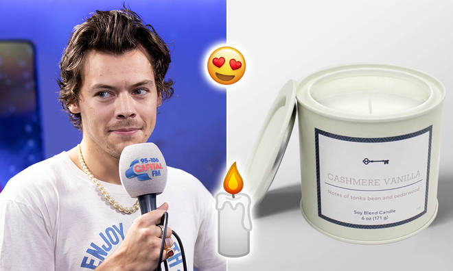 The cashmere vanilla candle that 'smells like' Harry Styles was sold in the US