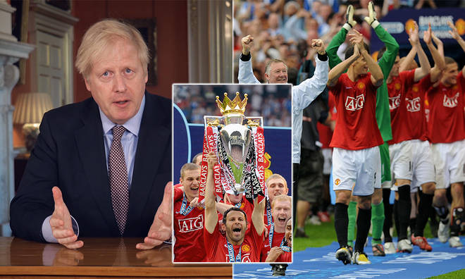 The Premier League can resume, according to the government's roadmap document