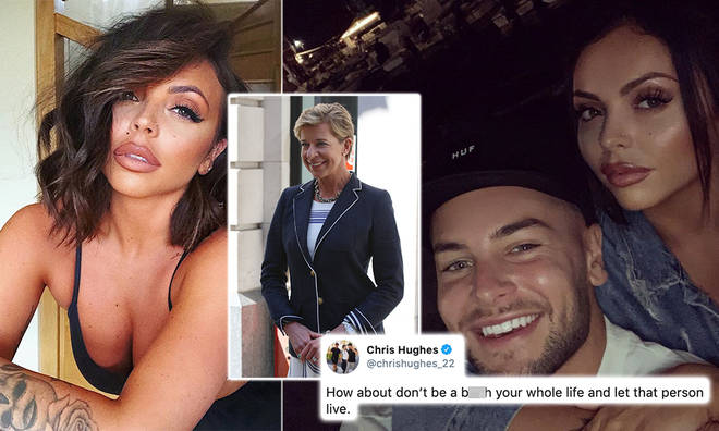 Katie Hopkins trolled Jesy Nelson's selfies and Chris Hughes fired back