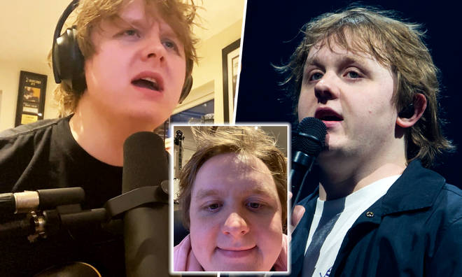 Lewis Capaldi hosting a virtual reality concert