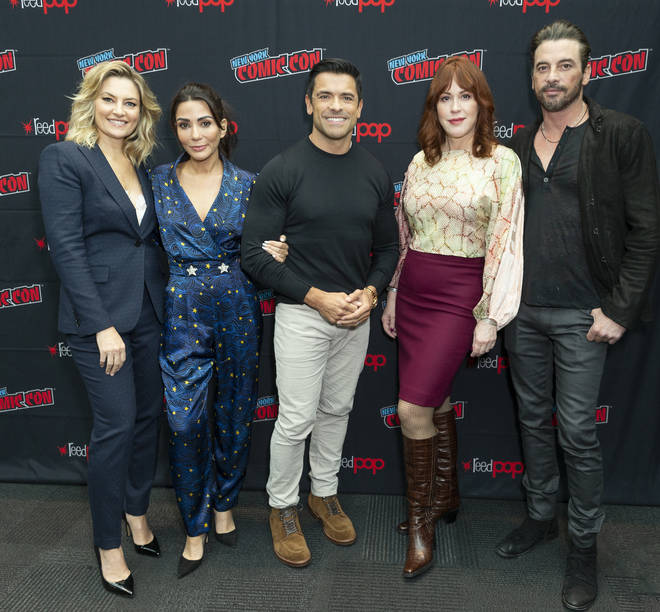 Cast attends press day for Riverdale