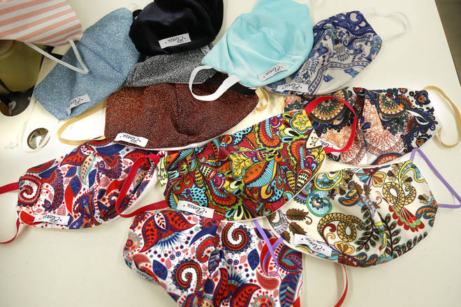 The 'trikini' comes in an array of patterns