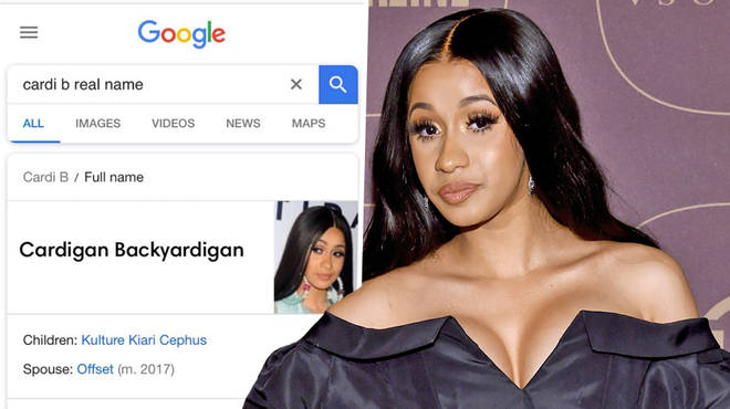 Cardi B Real Name Meme Claims Shes Called Cardigan Backyardigan