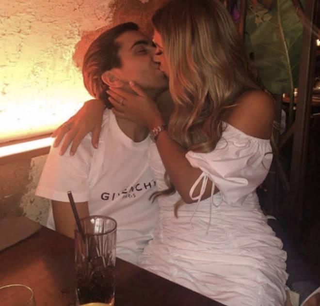Dani Dyer has rekindled her romance with Sammy Kimmence