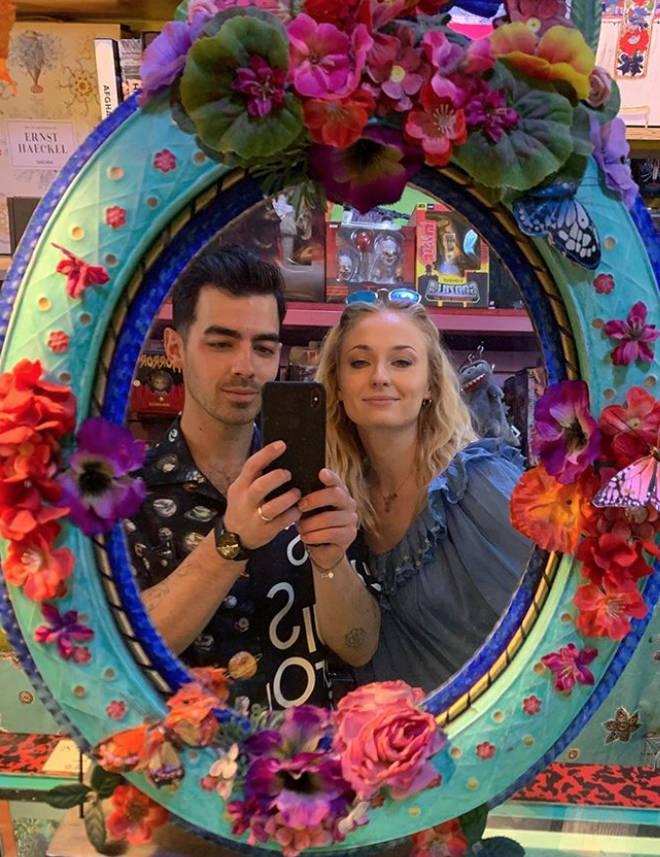 Sophie Turner and Joe Jonas are yet to confirm their pregnancy news