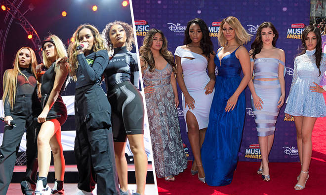 Little Mix felt awkward when Fifth Harmony were signed to the same label as them