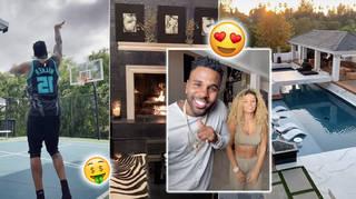 Jason Derulo lives in a multi-million dollar California mansion