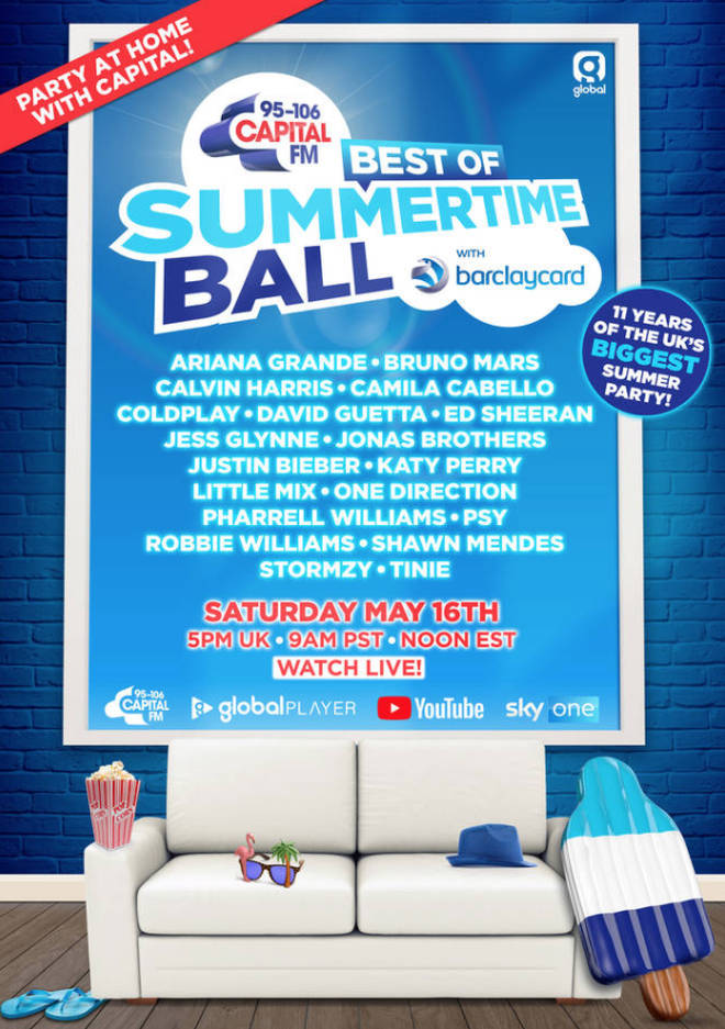 The Best of Capital's Summertime Ball's full line-up