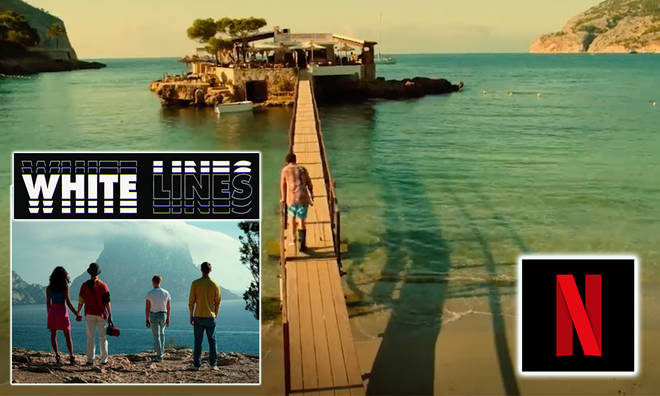 White Lines was filmed in a super exotic location