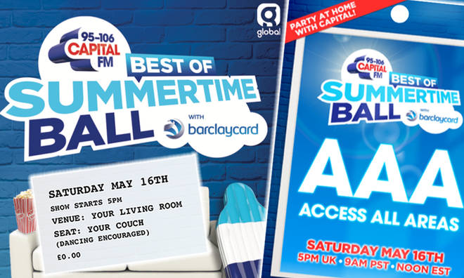 The Best of Capital's Summertime Ball DIY merch is available now!