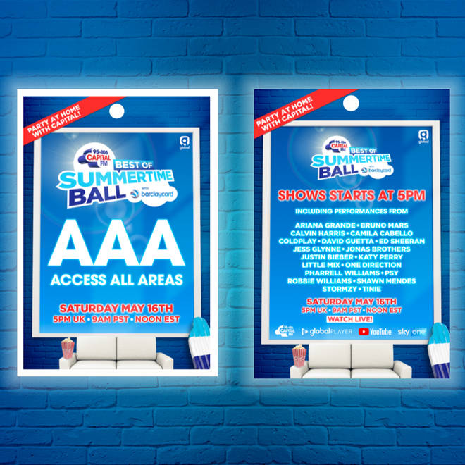 Assemble your very own Best of Capital's Summertime Ball lanyard