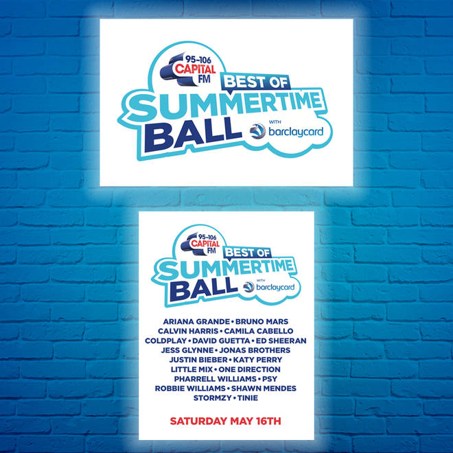 Make your own Best of Capital's Summertime Ball t-shirts with our ready made design!