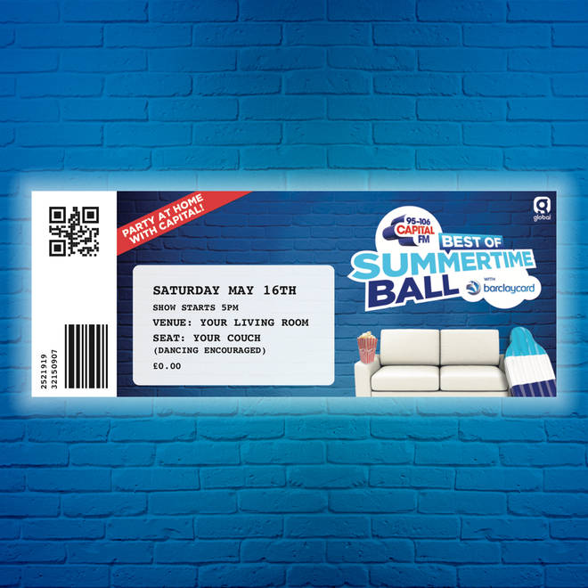 Your very own Best of Capital's Summertime Ball ticket