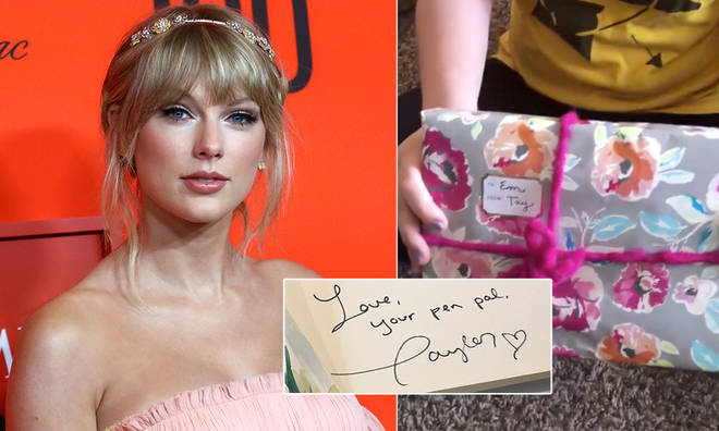 Taylor Swift sent her fan a surprise in the post
