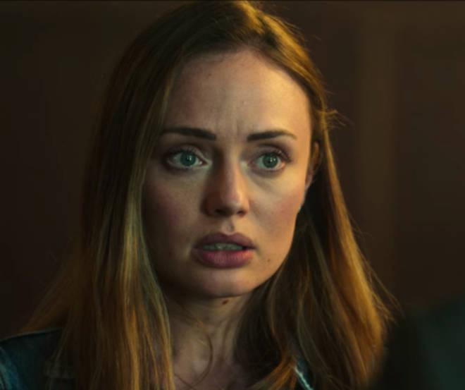 Laura Haddock plays Zoe Walker in Netflix's 'White Lines'