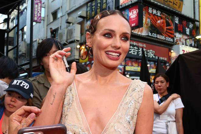 Laura Haddock at the 'Transformers: The Last Knight' Japan Premiere in 2017