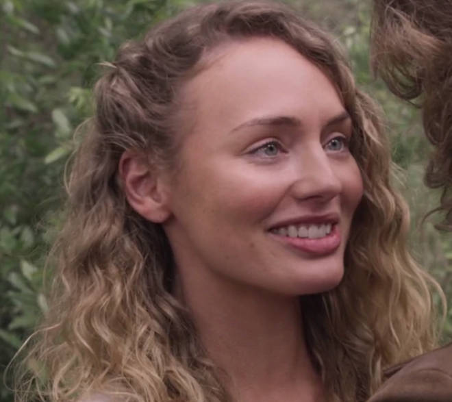 Laura Haddock plays Meredith Quill in Guardians of the Galaxy