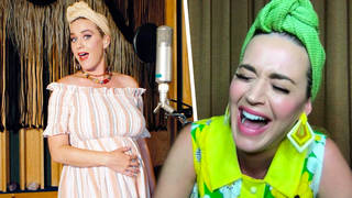 Katy Perry spoke about the difficulties of being pregnant during quarantine