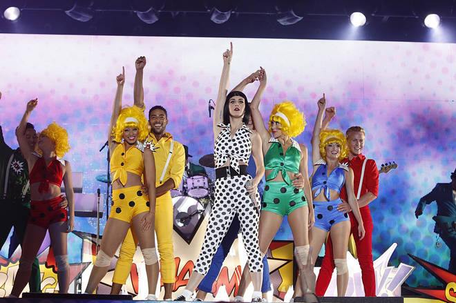 Katy Perry is part of The Best of Capital's Summertime Ball's line-up