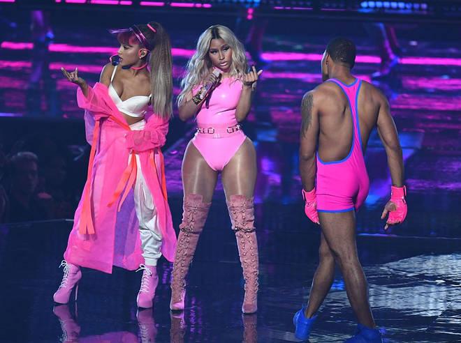 Ariana Grande Nicki Minaj height how tall
