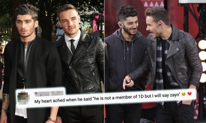 Liam Payne said he and Zayn Malik have 'similar sounds'