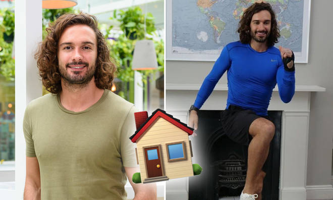 Joe Wicks was able to buy his mum a house of her own