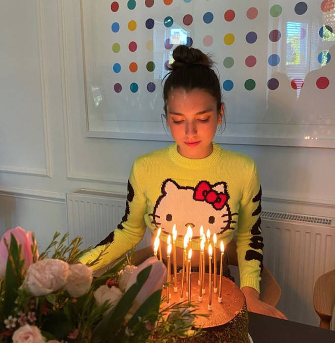 Dua Lipa's sister Rina celebrated turning 19