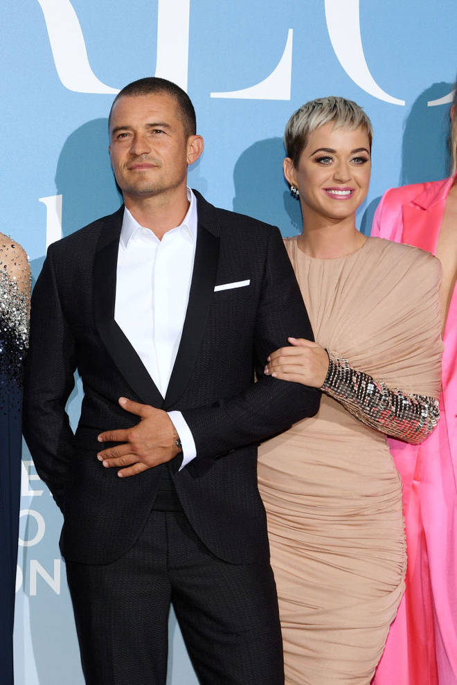 Katy Perry and Orlando Bloom made their red carpet debut in 2018