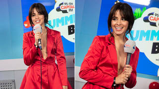 Camila Cabello took to the stage at Capital's Summertime Ball in 2018