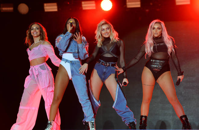 Little Mix performed at Capital's Summertime Ball in 2017