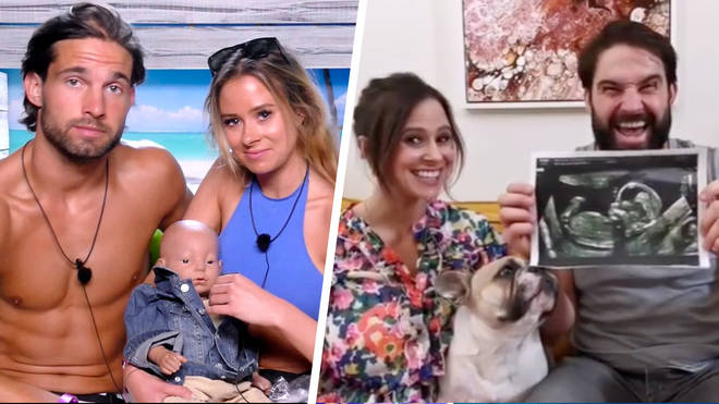Love Island's Camilla Thurlow and Jamie Jewitt are expecting their first child