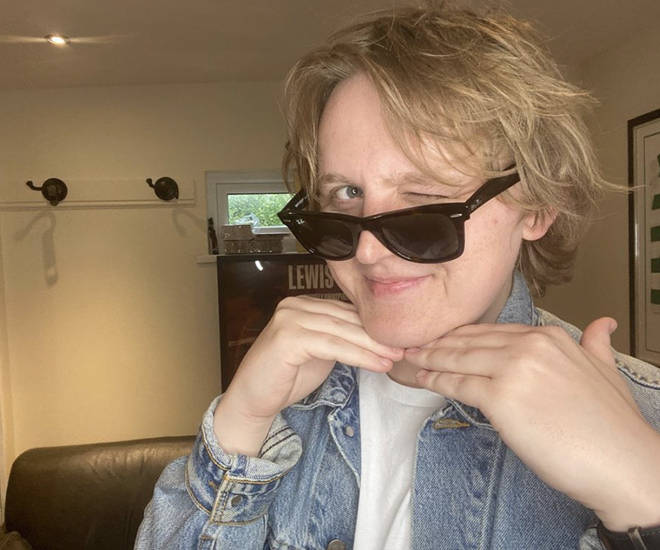 Lewis Capaldi said he hopes for 'glistening abs'