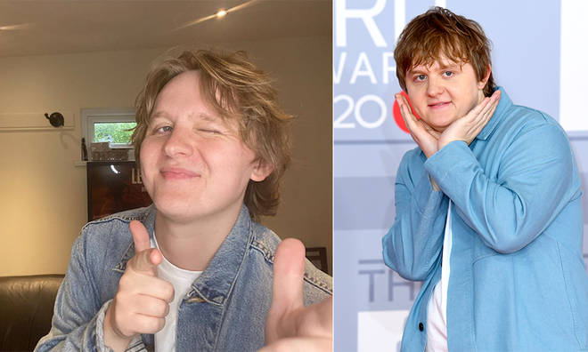 Lewis Capaldi is keen to flaunt his new post-lockdown body