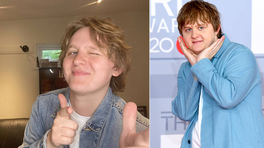 Lewis Capaldi plans to show off 'washboard abs' after lockdown