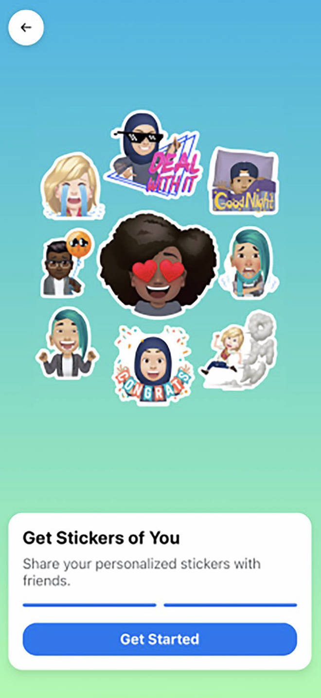 You can customise your Facebook avatar