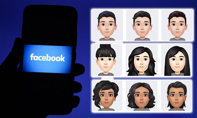 You can now create a personalised Facebook avatar to use in messages