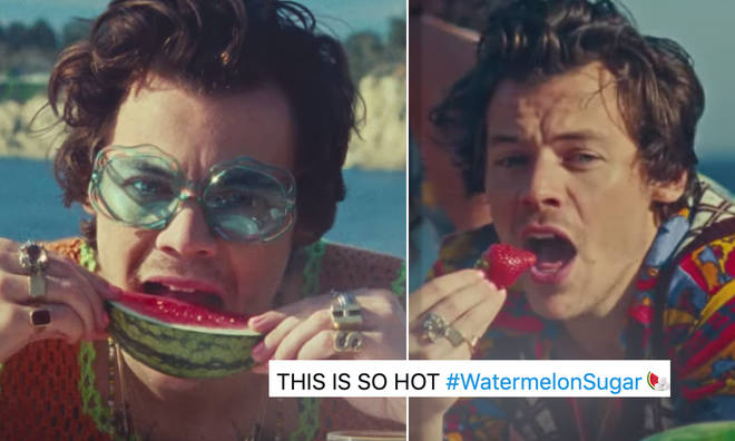 Harry has urged fans 'not to try this at home'.