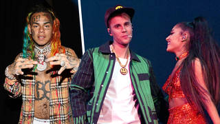 6ix9ine accused Justin Bieber and Ariana Grande of buying their Billboard top spot