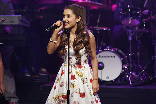 Ariana Grande's look was far more girly at the start of her pop career