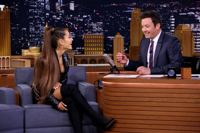 Ariana Grande's long ponytail has become her trademark
